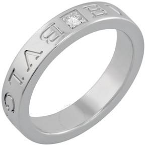 Bvlgari 18kt White Gold Diamond-set Ring