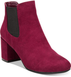 Bar III Camelia Ankle Booties, Created for Macy's Women's Shoes