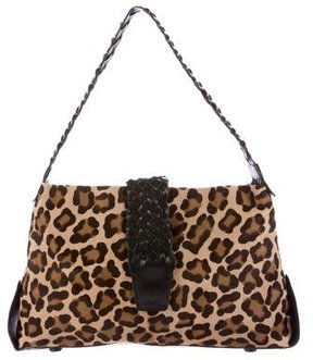 Carlos Falchi Ponyhair Shoulder Bag