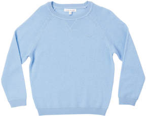 Marie Chantal Boys Boy Cashmere Sweater - Pale Blue