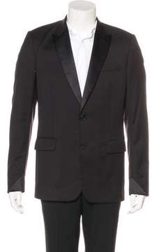 Christian Dior Wool Tuxedo Blazer