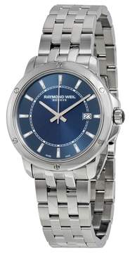 Raymond Weil Tango Blue Dial Stainless Steel Men's Watch