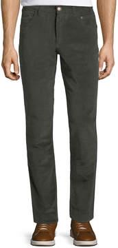 Jachs Ny Six-Pocket Style Corduroy Pants, Green