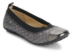 Naturino Toddler's & Kid's Elastic Goring Quilted Ballet Flats