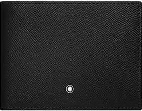 Montblanc Men's Black Leather Wallet.