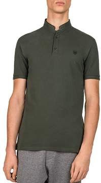 The Kooples New Shiny Piqué Slim Fit Polo