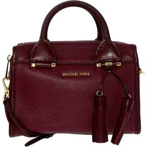 Michael Kors Women's Small Geneva Leather Shoulder Bag Satchel - Plum - PLUM - STYLE
