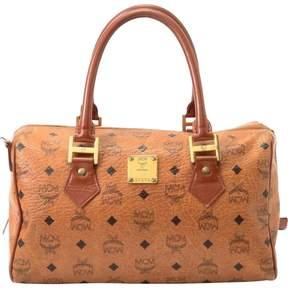 MCM Beige Cloth Handbag