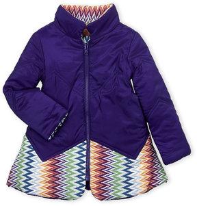 Missoni Toddler Girls) Reversible Knit Paneled Jacket