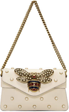 Gucci White Broadway Evening Bag - WHITE - STYLE