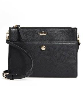 Kate Spade Steward Street Clarise Leather Shoulder Bag - Black - BLACK - STYLE