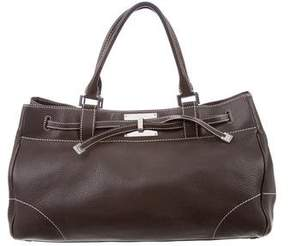 Lambertson Truex Leather Top Handle Bag