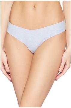 Commando Heathered Cotton Thong CCT55 Women's Underwear