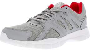Reebok Men's Trainfusion Nine 3.0 Grey / White Red Ankle-High Mesh Training Shoes - 10M