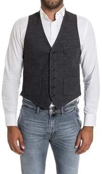 Manuel Ritz Men's Grey Wool Vest.