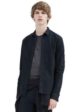 IRO Vynah Distressed Button Down Shirt