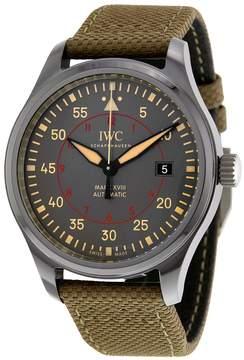 IWC Pilot Top Gun Automatic Anthracite Dial Men's Watch