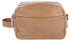 Tory Burch Leather Crossbody Bag - NEUTRALS - STYLE