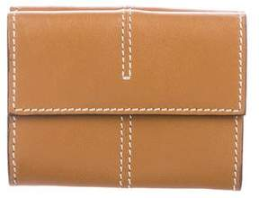 Tod's Leather Flap Wallet