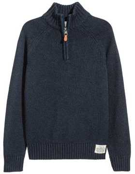 H&M Knit Sweater with Collar