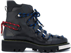 DSQUARED2 Trekking Combat boots