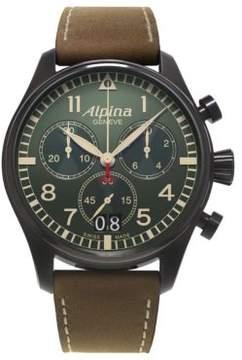 Alpina Startimer Pilot Chronograph Watch