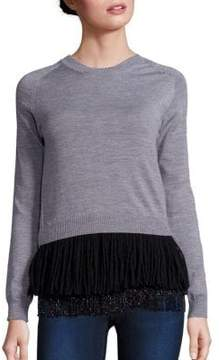 N°21 Two-Piece Wool Sweater