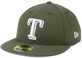 New Era Texas Rangers Low Profile C-dub 59FIFTY Fitted Cap
