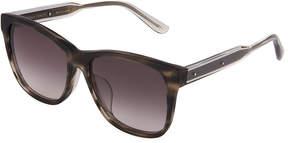 Bottega Veneta Square Plastic Sunglasses
