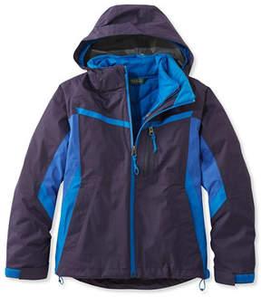 L.L. Bean Boys' Peak Waterproof Insulated 3-in-1 Jacket