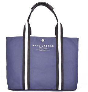 Marc Jacobs Logo Tote - BLU - STYLE