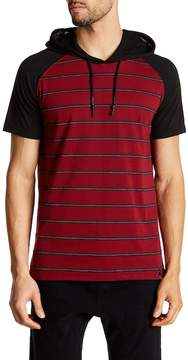 Burnside Hooded Short Sleeve Pullover