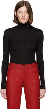 Calvin Klein Black 205 Jersey Turtleneck