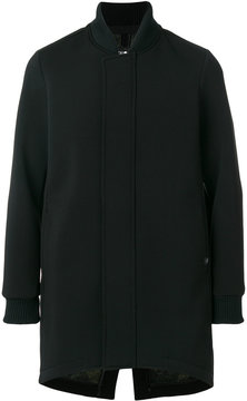 Hydrogen concealed buttoned jacket