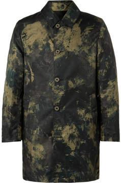 MACKINTOSH Slim-Fit Reversible Camouflage-Print Nylon Coat