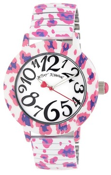 Betsey Johnson Women's Printed Expansion Watch