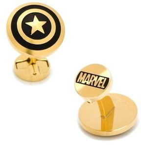 Cufflinks Inc. Men's Cufflinks, Inc. Marvel Comics Captain America Cuff Links