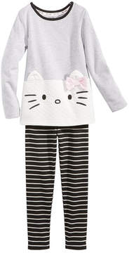 Hello Kitty 2-Pc. Tunic & Leggings Set, Little Girls (4-6X)