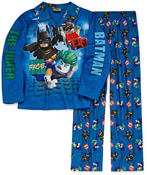 Lego Batman Coat Front Pajama Set - Boys 4-20