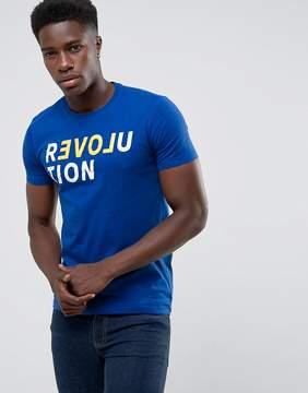 Benetton Revolution Slogan T-Shirt