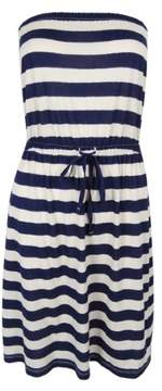 Tommy Hilfiger Women's Striped Strapless Dress