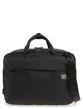 Herschel Men's Britannia Convertible Messenger Bag - Black