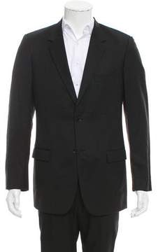 Calvin Klein Collection Wool Two-Button Blazer