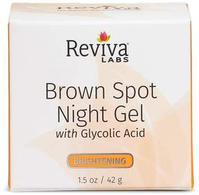 Brown Spot Night Gel with Glycolic by Reviva (1.25oz Gel)