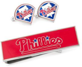 Ice Philadelphia Phillies Cufflinks and Money Clip Gift Set