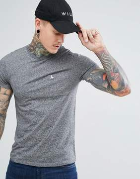 Jack Wills Ayleford Slim Fit Pocket T-Shirt In Gray