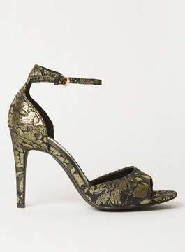 Dorothy Perkins Brocade 'Shay' Two Part Heeled Sandals
