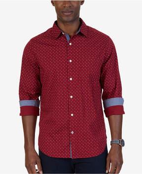 Nautica Men's Classic-Fit Dash & Dot Shirt