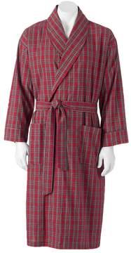 Hanes Big & Tall Lightweight Woven Shawl Robe