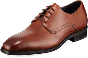 Karl Lagerfeld Paris Burnished Leather Oxford